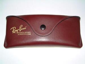 ray ban eyeglass hard case  vintage ray ban case