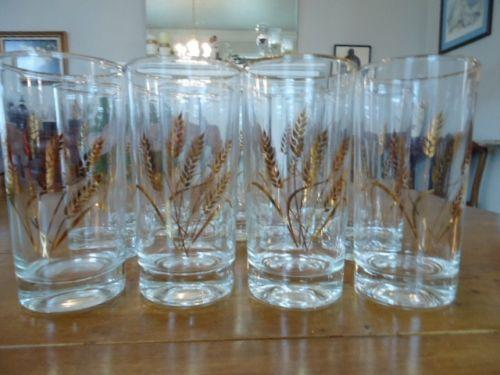 S Vintage Drinking Glass