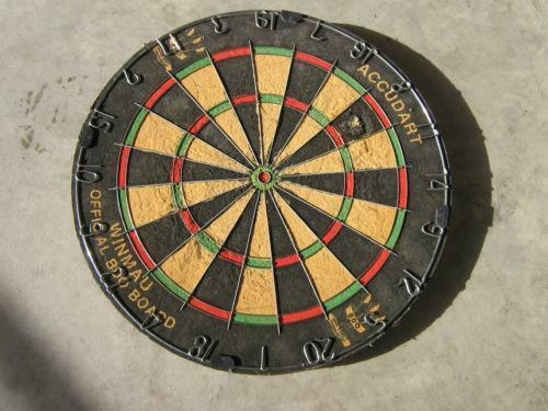 Dart Board Made In England Ebay