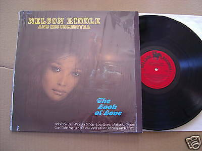 NELSON RIDDLE - THE LOOK OF LOVE - LP - BULLDOG RECORDS