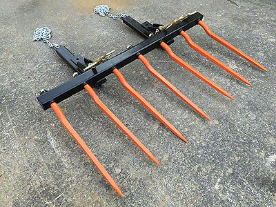 Manure Fork - Bucket - 7 X 36 Ckd Spikes