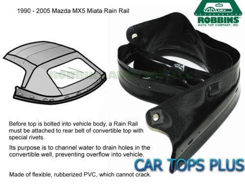 Miata Rain Rail Car Amp Truck Parts Ebay