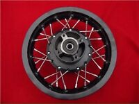 """Brand new 10"""" back pit bike wheel with tyre and tube."""