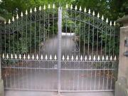 Wrought Iron Fencing Used