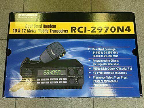 RANGER RCI-2970N4 10/12 Meter Radio Transceiver HIGH POWER LOUD TALKING NEW!