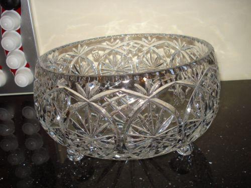 Crystal Fruit Bowl Ebay