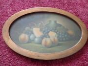 Vintage Framed Fruit Print