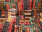 Library Book Fabric