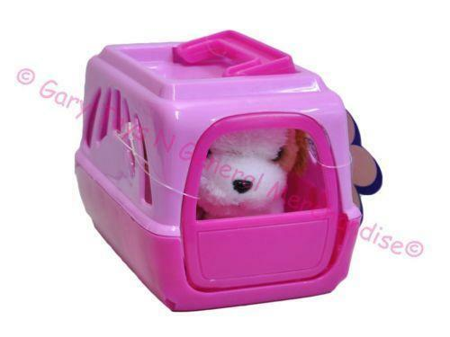Soft Toy Dog In Carrier