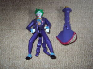 LEGENDS OF BATMAN, THE JOKER, ACTION FIGURE, NEAR MINT, COMPLETE