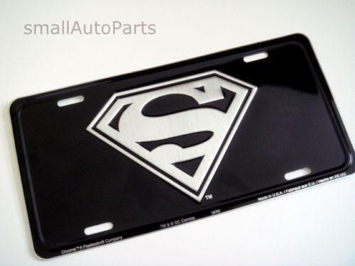 Superman Car Accessories: Superman License Plate