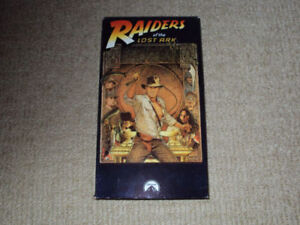 RAIDERS OF THE LOST ARK, VHS MOVIE, EXCELLENT CONDITION