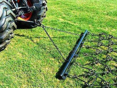 Pasture Chain Harrow 6 X 5-6 Landscape Drag Rake Atv Tractor