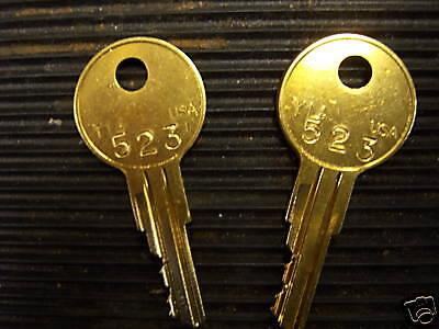 Ch523-snorkel-lift-keys-new Set-code Cut By Precision Locksmith Equipment-new