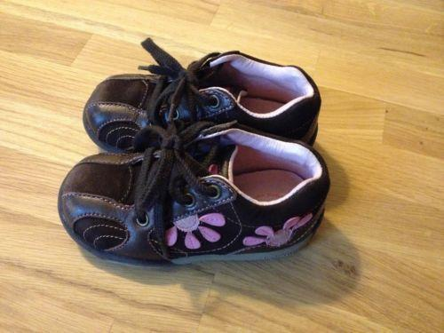 Toddler Girl Shoes Size 6 Brown Ebay