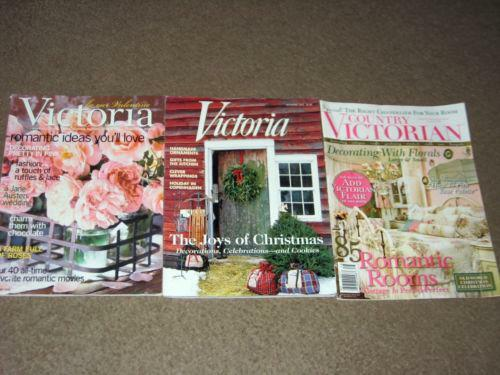 Country victorian magazine ebay for Country living magazine cross stitch