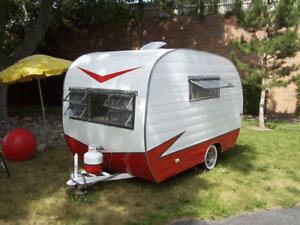 ISO  Vintage trailer