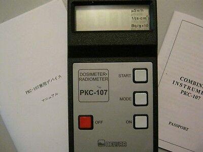 Belvar Pkc- 107 Geiger Counter Radiation Detector Dosimeter Pkc107 Gammabeta
