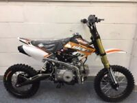 NEW SLAM MXR PIT BIKE, 125CC PIT BIKES IN GLASGOW, FREE DELIVERY, CREDIT & DEBIT CARDS ACCEPTED