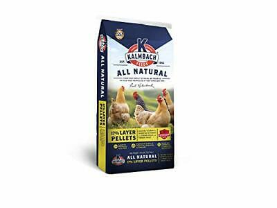 Kalmbach Feeds Chicken Egg Layer Feed Pellets Food For Laying Hens 50lb - $63.57