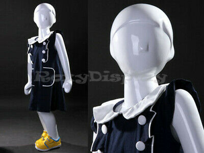 Child Fiberglass Abstract Mannequin Dress Form Display Mz-tom2