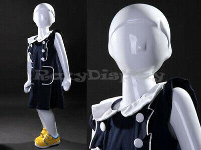 Child Fiberglass Abstract Mannequin Dress Form Display Mz-tom2