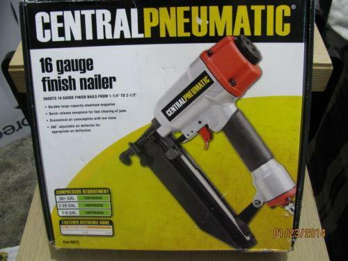 Central Pneumatic Nailer Ebay