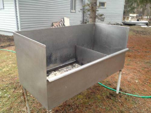 Commercial Sinks On Ebay : Used Commercial Stainless Steel Sink eBay