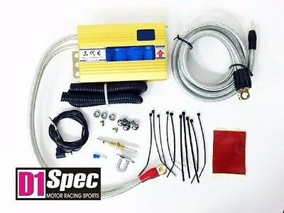 (D1 SPEC Volt Controller Voltage Stabilizer III GOLD Fits Mustang Focus Ford)