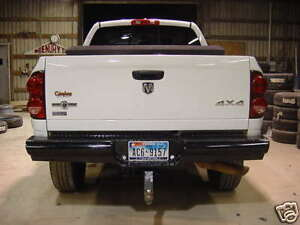 New Ranch Style Rear Bumper 03 04 05 06 07 08 09 Dodge Ram 2500 3500
