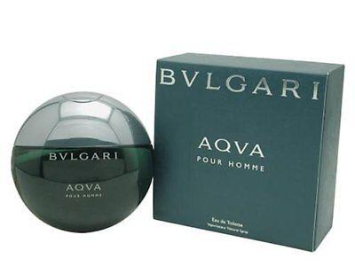 Bvlgari Aqva Pour Homme by Bvlgari 3.4 oz EDT Cologne for Men New In (Bvlgari Blue Men)