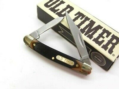Schrade 104OT Old Timer Saw Cut Minuteman 2 Blade Folder Folding Pocket Knife