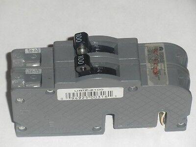ZINSCO QCB 100A 120//240V 2 POLE CIRCUIT BREAKER BOLT-ON RECONDITIONED