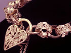 Gold Chain 20 - 21.49cm Length Fine Bracelets