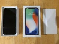 IPhone X 256gb black unlocked like new