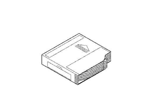 MERCEDES BENZ ML ML320 ML350 ML430 ML500 ML55 CD CHANGER MAGAZINE CARTRIDGE W163