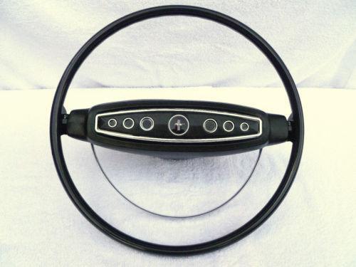 1968 mustang steering wheel ebay. Black Bedroom Furniture Sets. Home Design Ideas