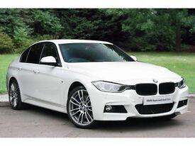 car hire/ chauffeur service in a prestige white bmw 335d