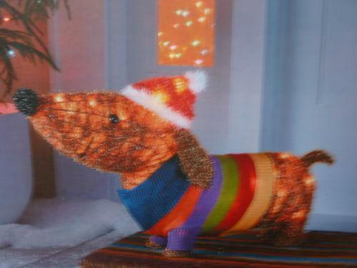 Lighted Christmas Dog Ebay