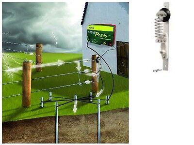 PATURA Blitzschutz Weidezaungerät - Schutz Blitze Blitzableiter Weidezaun