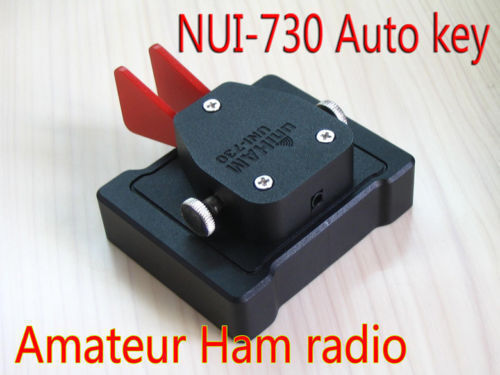 UNI-715 automatic left hand key for YEASU-FT817 Ham radio telegram CW Morse code