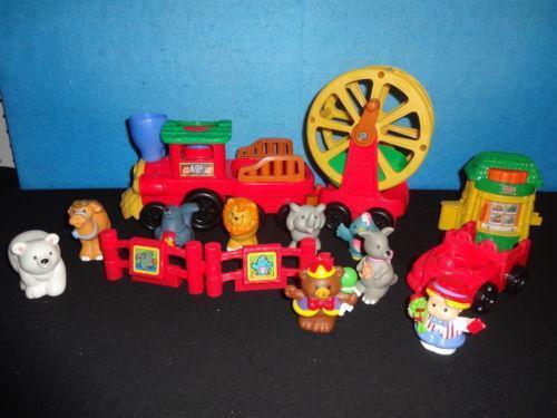 Animal Train Set : Fisher price animal zoo train ebay
