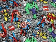 Superhero Fabric