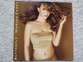 MARIAH CAREY BUTTERFLY - 488537 1 VINYL LP (1997) Very Rare