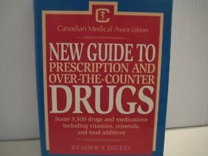 New Guide to Prescription and Over-Counter DRUGS .. book Cambridge Kitchener Area image 1