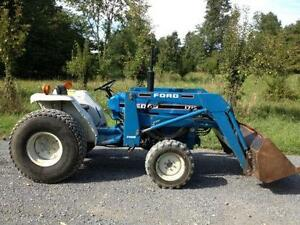 Used Tractors For Sale >> Compact Tractor Ebay