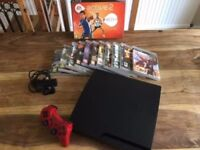 SONY PLAYSTATION 3 & GAMES
