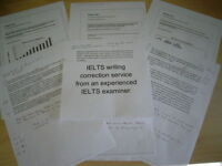 IELTS online tuition and writing correction service from an experienced former IELTS examiner