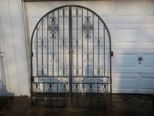 Vintage Iron Gate Ebay