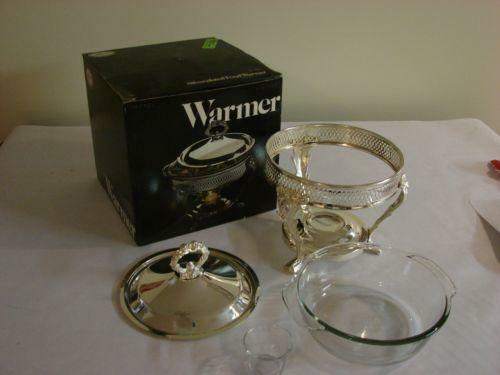 Silver Plated Food Warmer Ebay